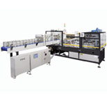 ARPAC DPM-2000 Intermittent Motion Wrap-Around Tray Packer/Case Packer